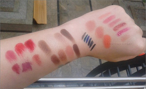 KIKO Lavish Oriental Swatches