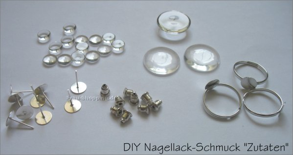 diy nagellack schmuck. Black Bedroom Furniture Sets. Home Design Ideas