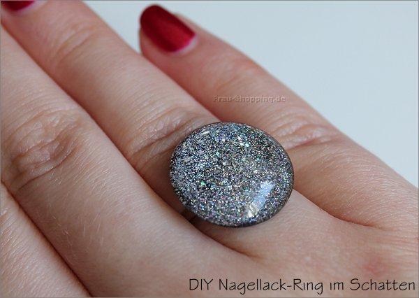 DIY Schmuck mit Cabochons und Nagellack - mein Ring