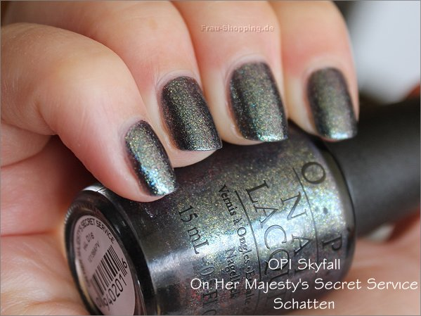 OPI On Her Majestys Secret Service Swatch