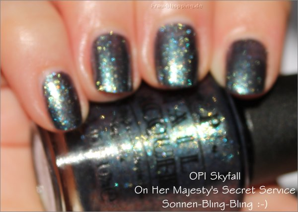 OPI On Her Majestys Secret Service - Sonnengefunkel