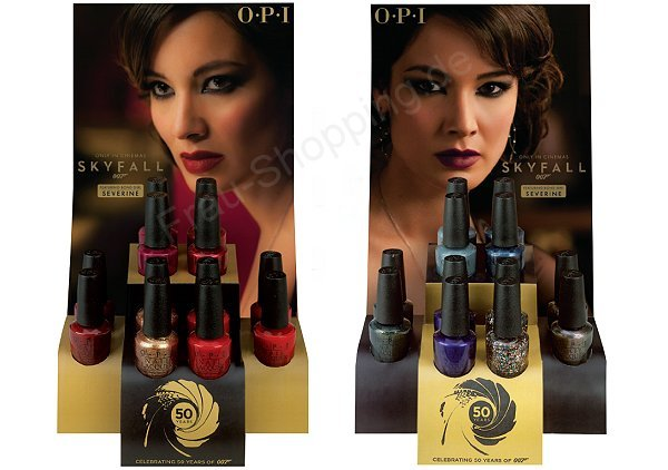 Preview: OPI Skyfall Displays