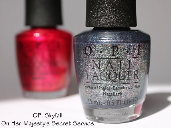 OPI Skyfall On Her Majesty's Secret Service