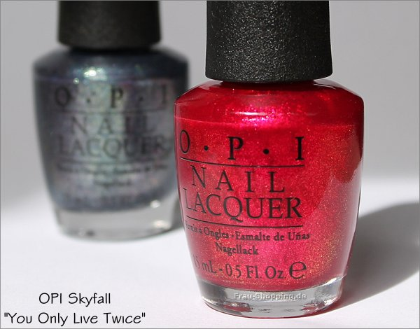 OPI Skyfall You Only Live Twice