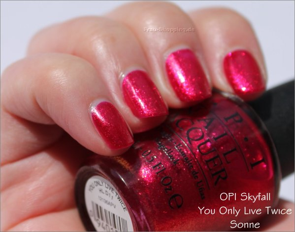 OPI You Only Live Twice Swatch