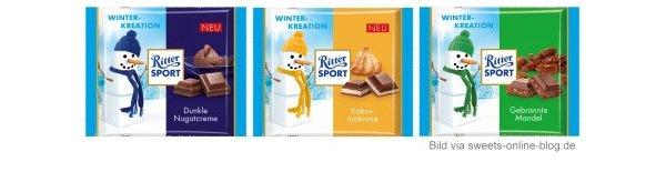 Die Ritter Sport Wintersorten für 2012