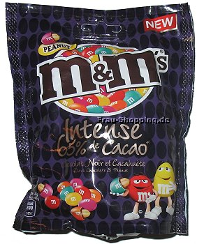 M&Ms Intense 65% Cacao