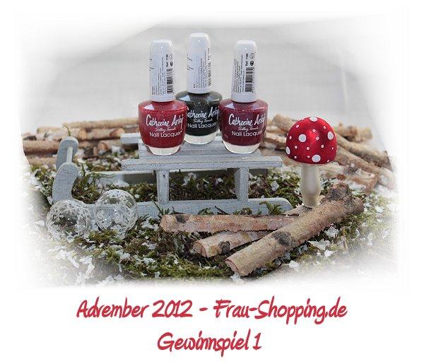 Advember Gewinnspiel 2012 - Woche 1: Gewinne 3 Catherine Arley Holo-Nagellacke!