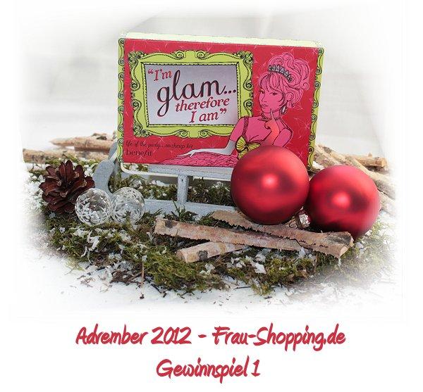 Advember Gewinnspiel 2012 - Woche 1: Gewinne ein Benefit Set!