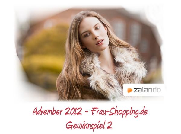 Advember Gewinnspiel 2012 – Woche 2: Gewinne einen 50 Euro Gutschein von Zalando