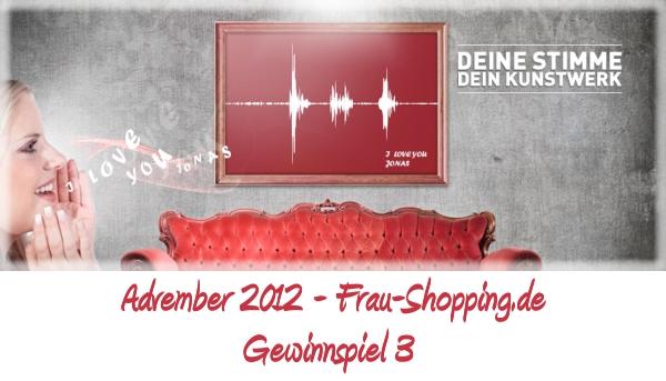 Advember Gewinnspuiel 2012 - Woche 3: Gewinne einen ArtYourVoice Gutschein
