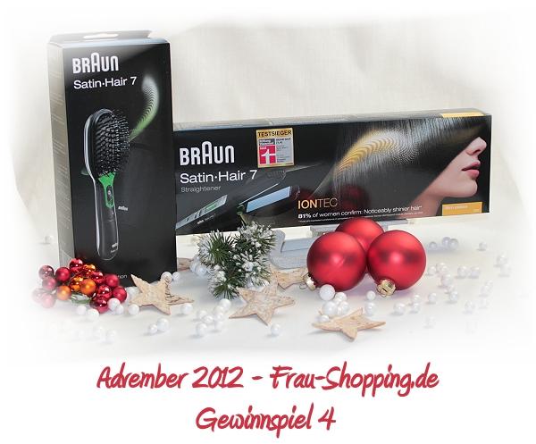 Advember Gewinnspiel 2012 - Woche 4: Gewinne ein Haar-Set von Braun