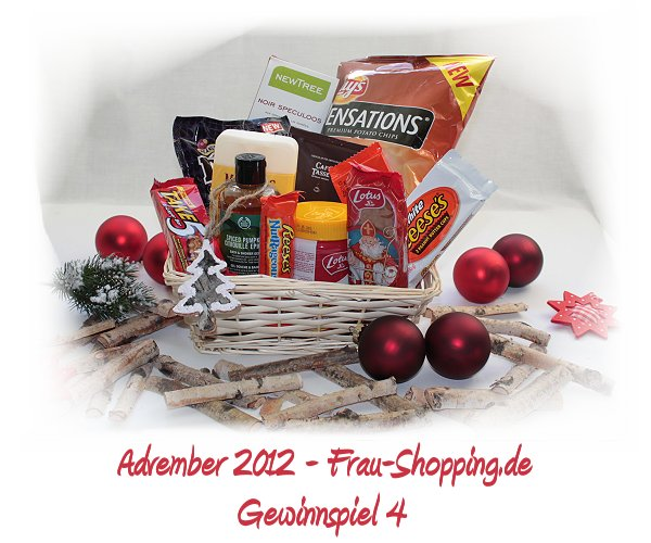 Advember Gewinnspiel 2012 - Woche 4: Gewinne einen duften Fresskorb!