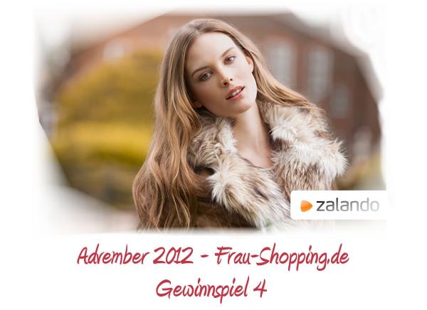 Advember Gewinnspiel 2012 - Woche 4: Gewinne einen Gutschein von Zalando
