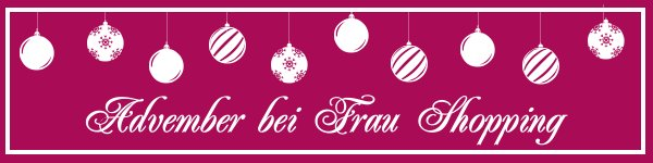 Advember bei Frau-Shopping.de