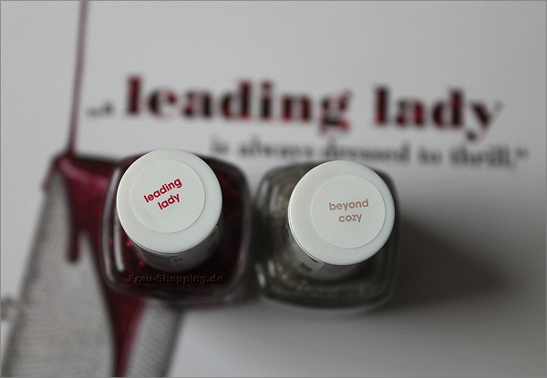 essie Leading Lady und Beyond Cozy