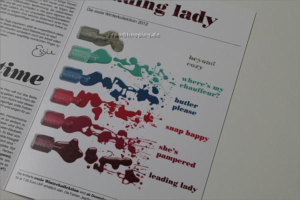 essie Leading Lady - Winter Kollektion 2012