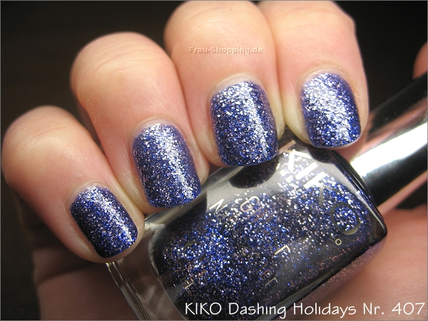 KIKO Dashing Holidays Nagellack Nr. 407