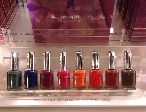 KIKO Dashing Holidays Limited Edition - Nagellack-Set