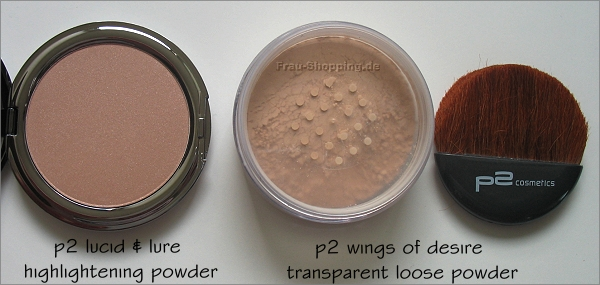 p2 Keep the Secret Limited Edition - Highlighter und loses Puder