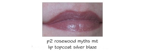 p2 Keep the Secret Lippenstift mit Lip Topcoat