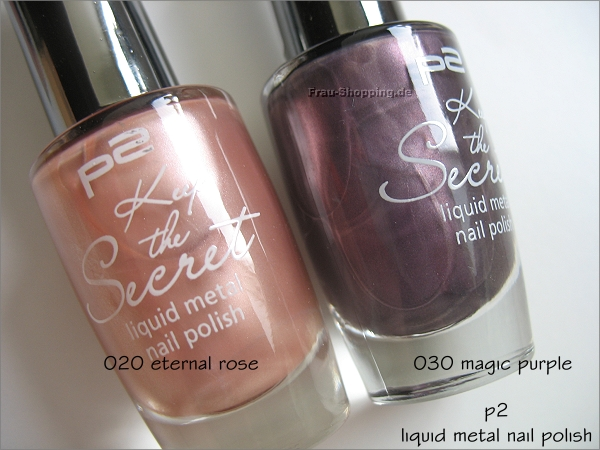 p2 Keep the Secret Nagellacke