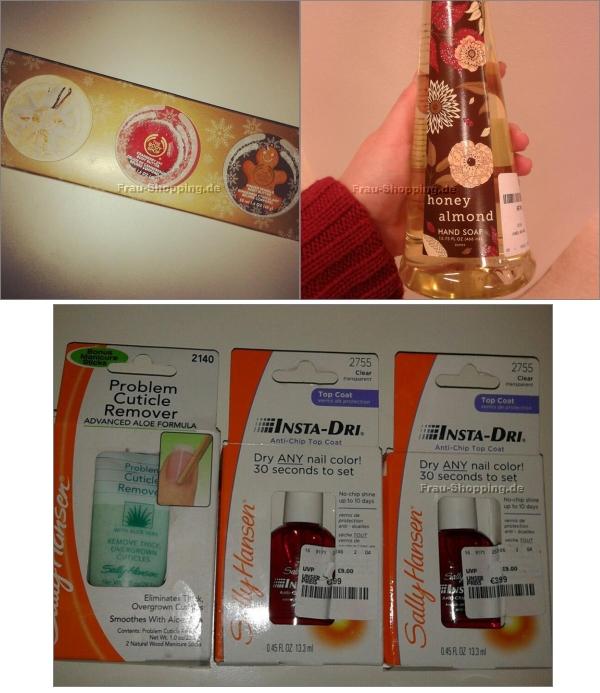 Aus meinem Einkaufswagen - The Body Shop Creme und Einkauf bei TK Maxx