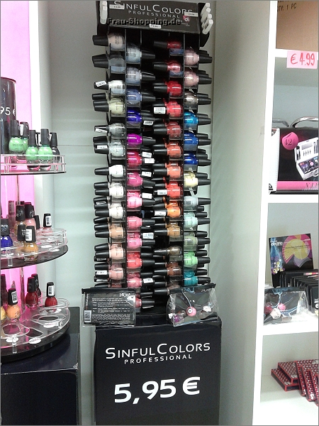Sinful Colors in Drogerie Di in Antwerpen