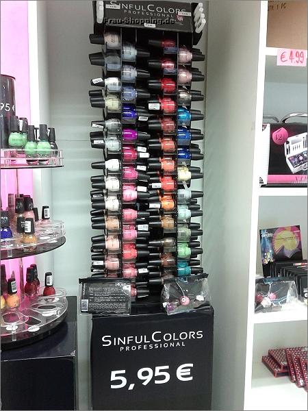 Sinful Colors in Drogerie Di in Antwerpen