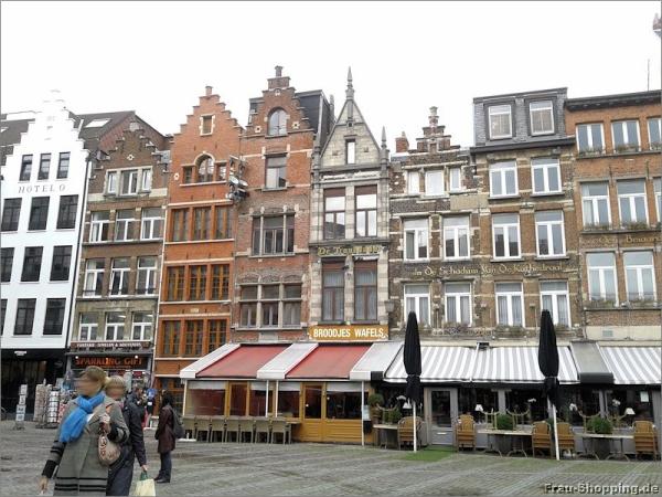 Der Handschoenmarkt in Antwerpen