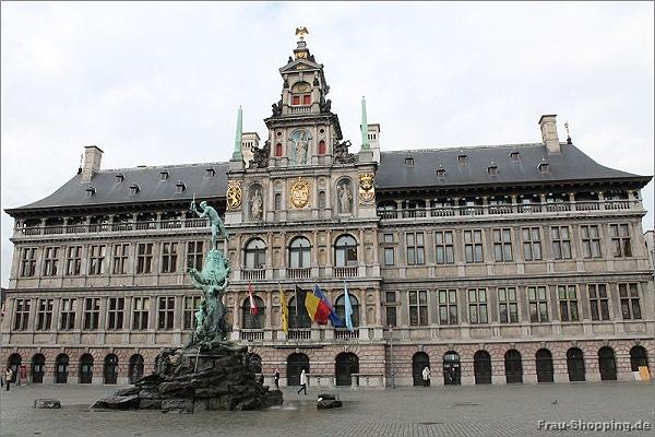 Das Rathaus in Antwerpen