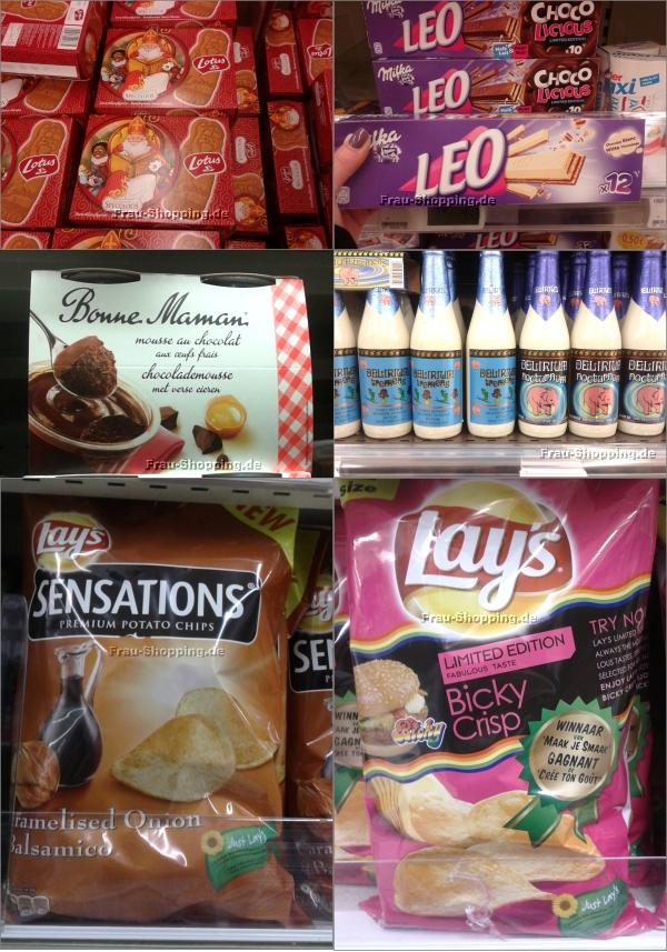 Produkte im Supermarkt