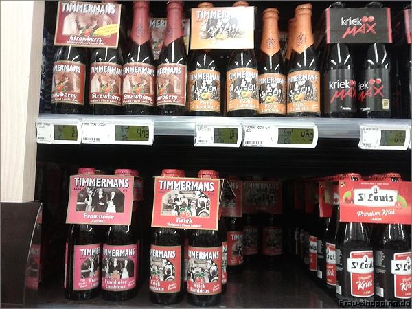 Fruchtiges Bier in Antwerpen