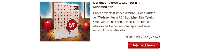 chocri Adventskalender