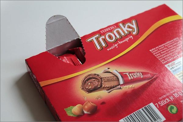 Ferrero Tronky Rückseite