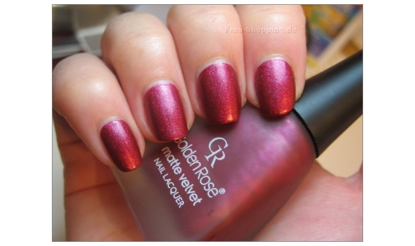 Golden Rose Matte Velvet Nr. 106