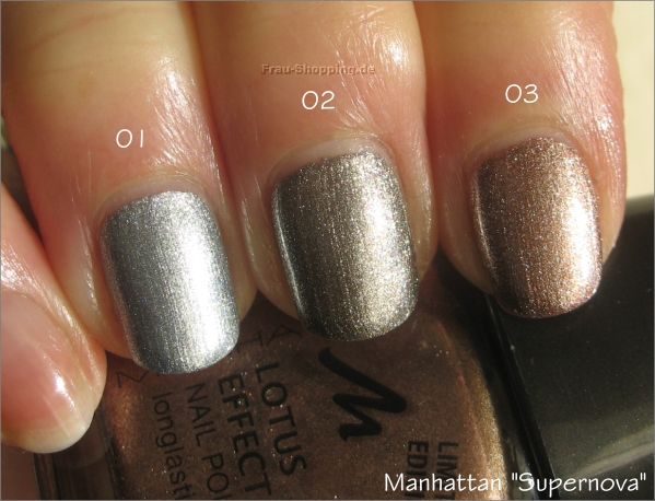 Manhattan Supernova Swatch von Metallic Moon, Rising Star und Lacque Hole