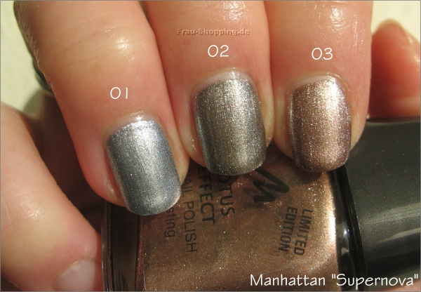 Manhattan Supernove Nagellacke Swatch