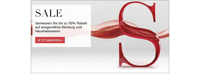Sale mit bis zu 50% Rabatt bei Marks & Spencer
