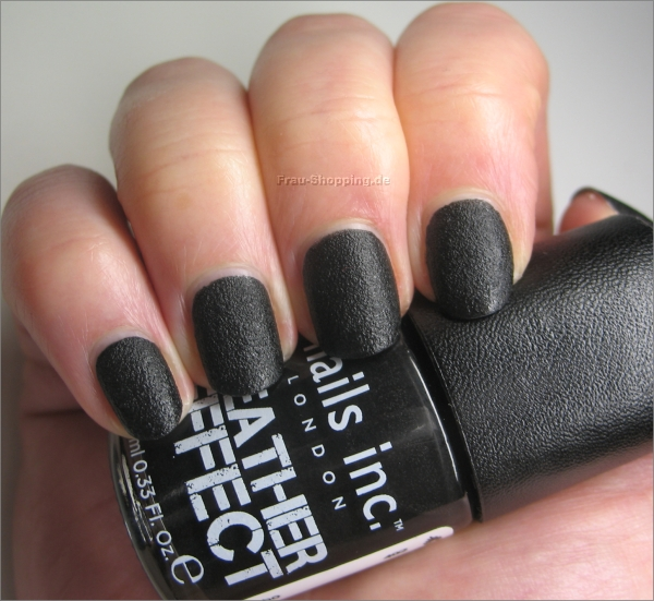 nails inc. Leather Effect Swatch