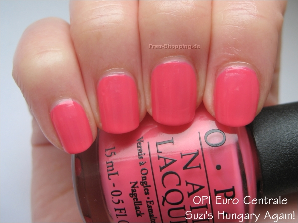 OPI Suzis Hungary Again Swatch