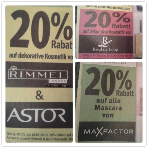 Rossmann Beauty Rabatte ab 07.01.2013