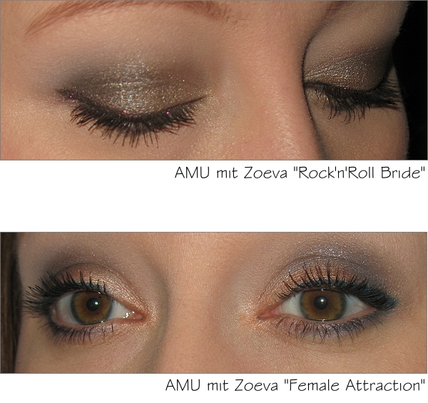 AMU mit den beiden Zoeva Graphic Eyes + Linern