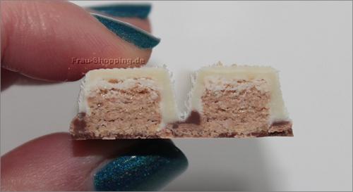 KitKat Cookies & Cream von Innen