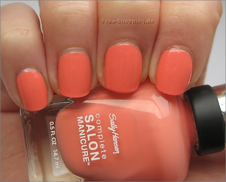 Sally Hansen Peach of Cake