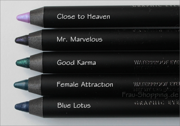 Die neuen Zoeva Graphic Eyes+ Liner