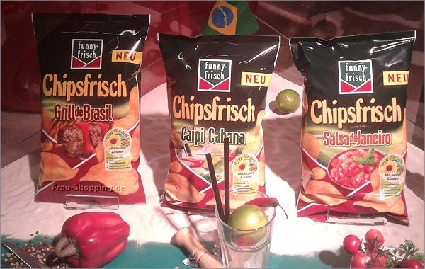 ISM 2013 - die drei neuen Chipsfrisch Sorten