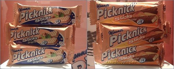 ISM 2013 - Manner Picknick Sticks Original und Caramel und Crisp