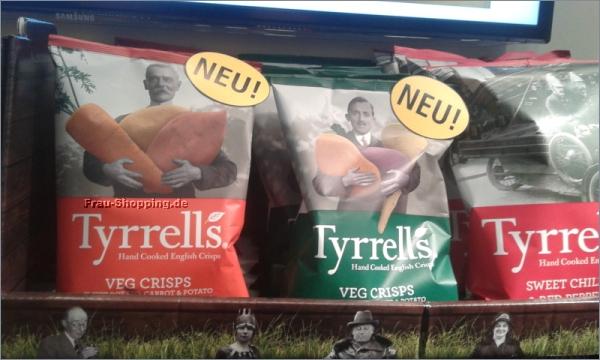 ISM 2013 - Tyrrells Veg Crisps