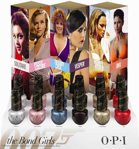 OPI Bond Girls Liquid Sand Kollektion